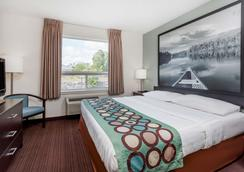 Super 8 by Wyndham Peterborough - Peterborough - Makuuhuone