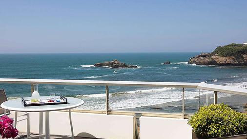 Sofitel Biarritz le Miramar Thalassa Sea & Spa - Biarritz - Balcony