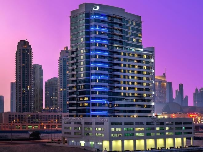 DAMAC Maison Canal Views - Dubai - Building