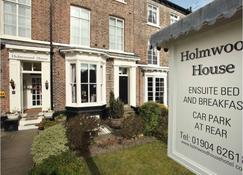 Holmwood House Hotel - Йорк - Будівля