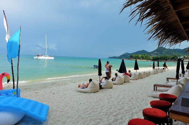 Baan Talay Resort - Ko Samui - Bãi biển