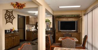 Super 8 by Wyndham Hattiesburg North - Hattiesburg - Dining room