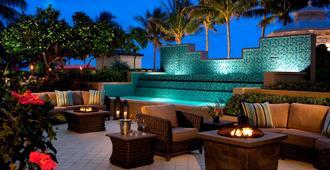 Palm Beach Marriott Singer Island Beach Resort & Spa - Riviera Beach - Patio