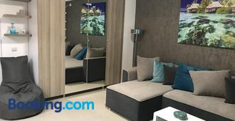 Luxury Flat 9 near Metro - Bucharest - Living room