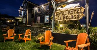 Hotel Motel Le Beluga - Tadoussac - Patio