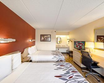 Red Roof Inn Charleston West - Hurricane, WV - Hurricane - Bedroom