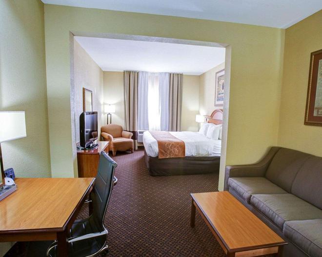 Comfort Suites Brenham - Brenham - Makuuhuone