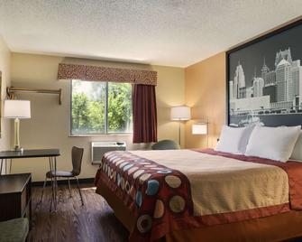 Super 8 by Wyndham Taylor/Detroit Area - Taylor - Ložnice