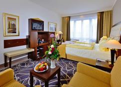 Hotel Caroline Mathilde - סלה - חדר שינה