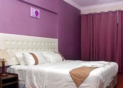 Delmon Hotel Apartments - Masqat - Slaapkamer