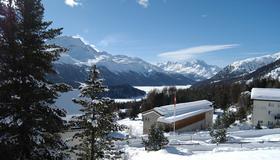 Berghotel Randolins - São Moritz - Vista externa