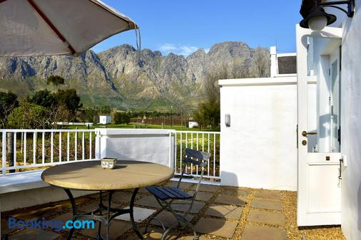Holden Manz Country House - Franschhoek - Balcony
