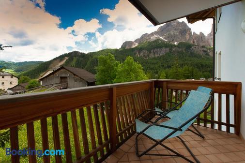 Residence Barbara - Colfosco - Balcony