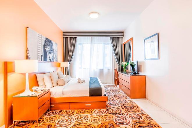 Golden Sands Hotel Apartments - Dubai - Makuuhuone