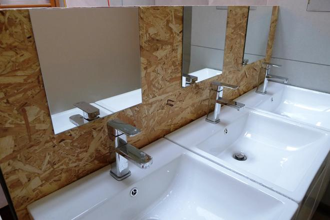 Puli Center Center Hostel - Puli - Bathroom