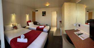 貝亞維斯塔汽車旅館 (奧瑪魯) - 奧瑪魯 - 奧瑪魯 - 臥室