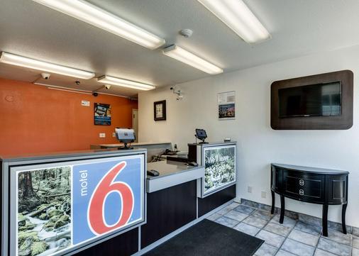 Motel 6 Spokane West - Airport - Spokane - Front desk