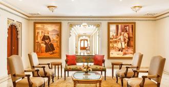 Taj Fateh Prakash Palace - Udaipur - Sala de estar