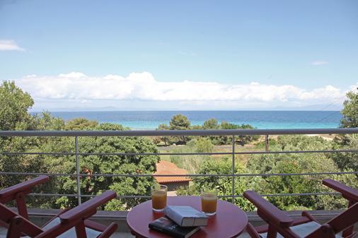 The Beach House - Afytos - Balcony