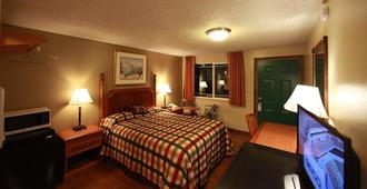 Executive Motel - Eugene - Bedroom