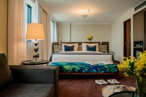 法利亞利馬藍樹高級酒店 - 聖保羅 - 聖保羅 - 臥室