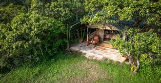 Losokwan Camp - Maasai Mara - Vista esterna
