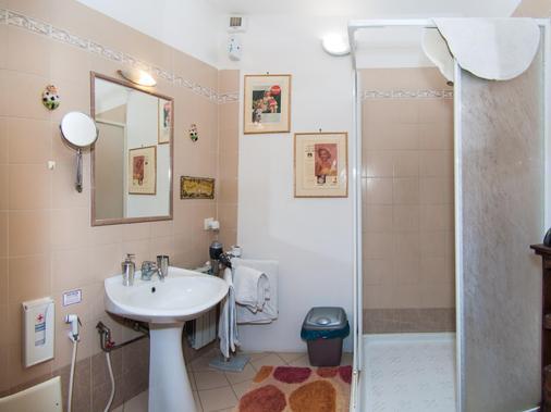Tarchon Luxury B&B - Tarquinia - Bathroom