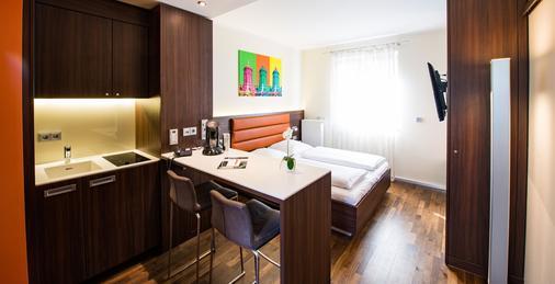 曼海姆食宿酒店 - 曼海姆 - 臥室