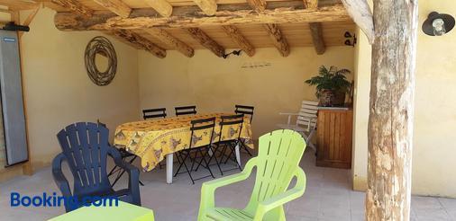 La Fenière Aux Hirondelles - Orange - Dining room