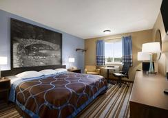 Super 8 By Wyndham Council Bluffs Ia Omaha Ne Area - Council Bluffs - Schlafzimmer