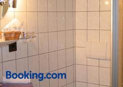 Restaurant Landgasthof Zum Wiesengrund - Newel - Bathroom