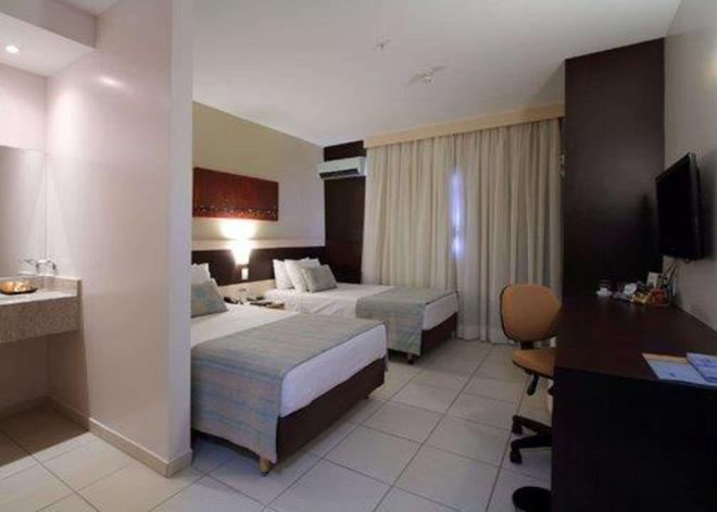 Comfort Hotel Goiania - Goiânia - Bedroom