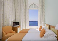 Atlantis Hotel - Thera - Slaapkamer