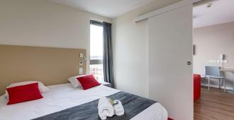All Suites Appart Hotel Bordeaux Marne - Bordeaux - Bedroom