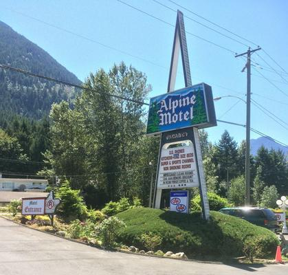 Alpine Motel - Hope - Building