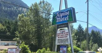 Alpine Motel - Hope - Building