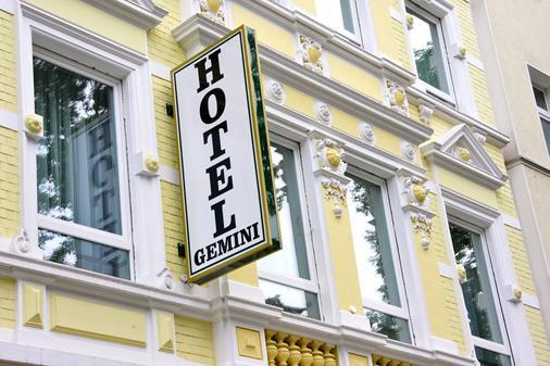 雙子酒店 - 杜塞道夫 - 建築