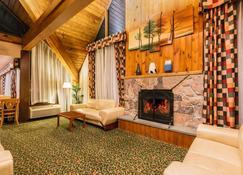 Days Inn by Wyndham Rutland/Killington Area - Rutland - Sala de estar