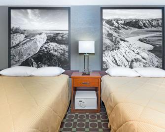 Super 8 by Wyndham Miles City - Miles City - Bedroom