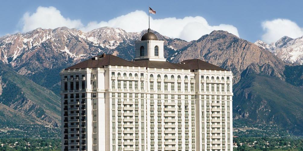 Grand America Hotel Salt Lake City Building