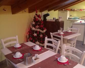 La Maison D'amelie - Torgnon - Ресторан