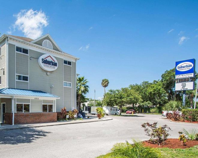 Suburban Extended Stay Hotel Airport - Tampa - Toà nhà