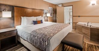 貝斯特韋斯特普勒斯卡爾加里中心酒店 - 卡加立 - 卡加利 - 臥室