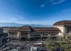 Hotel Continental - Lausana - Vista del exterior