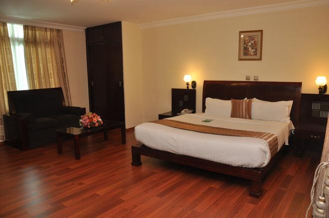 卡萊布酒店 - 阿迪斯阿貝巴 - 阿迪斯阿貝巴 - 臥室