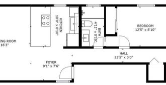 Avalon III By Avantstay | Mins To Gaslamp & Zoo - Deck W/ Bbq - San Diego - Floorplan