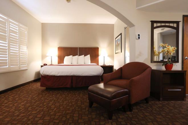 貝斯特韋斯特陽台花園旅館及套房酒店 - 聖荷西 - 聖何塞 - 臥室