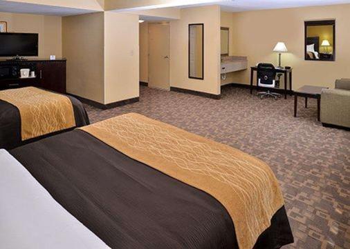Comfort Inn - Asheboro - Bedroom