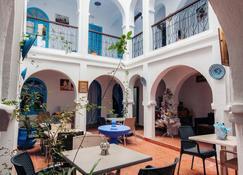 Hotel Dar Chefchaouen - Chefchaouen - Βεράντα