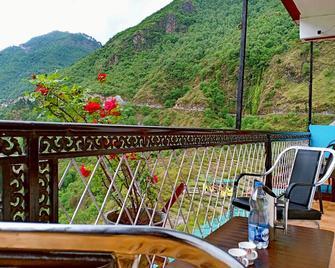 Hotel Valley View - Mussoorie - Balkon